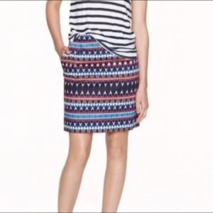 J. Crew Salon Mini in Gemstone Print Skirt -C